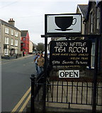 SM7525 : Stryd Fawr/High Street tea-room by ceridwen