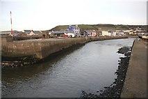 SN4562 : Aberaeron Harbour by Bob Jones