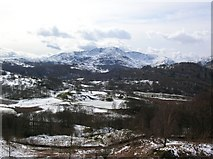 NY3404 : Looking over Elterwater by DS Pugh
