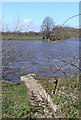 SK4530 : Longhorse Bridge has gone by David Lally