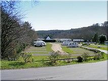 NJ3558 : Burnside Caravan Site at Fochabers by Ann Harrison