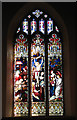 TG1617 : St Margaret's church - east window by Evelyn Simak