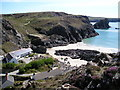 SW6813 : Kynance Cove from the West Cliffs by Michael Heavey