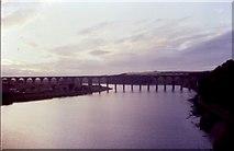 NT9953 : Royal Border Bridge Berwick upon Tweed by N T Stobbs