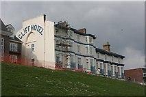 TM2531 : Cliff Hotel, Dovercourt by Bob Jones