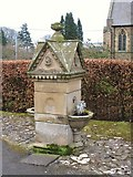 NY6565 : Water fountain, Greenhead by Mike Quinn