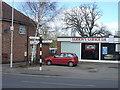 SK5526 : Fingerpost on Costock Road by Alan Murray-Rust