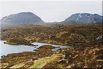 NH0077 : Path towards A' Mhaighdean by Nigel Brown