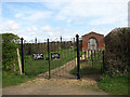 TG2724 : Entrance to War Graves Plot by Evelyn Simak