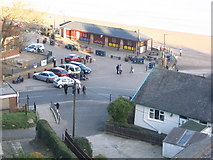 TA1280 : Coble Landing, Filey by Dave Pickersgill