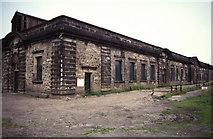 SE1839 : Esholt Sewage Works, press house. by Chris Allen