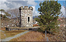 NG4843 : Portree Lookout Tower by John Allan