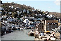 SX2553 : West Looe and the river by roger geach