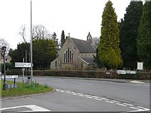 SO9975 : Lickey Holy Trinity Church at the junction with Rose Hill and Monument Lane by Roger A Smith