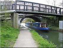TQ1683 : Ballot Box Bridge 13, Paddington Arm, Grand Union Canal by Dr Neil Clifton