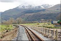 SH6041 : Rheilffordd Eryri - Welsh Highland Railway by Alan Fryer