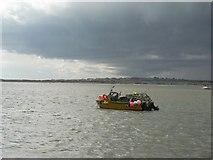 SZ1891 : Mudeford: looking across the harbour by Chris Downer