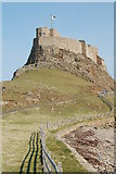 NU1341 : Lindisfarne Castle by hayley green