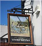 TA2609 : The Sign of the Tivoli Tavern by David Wright