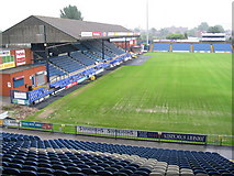 SJ8889 : Edgeley Park by Dave Pickersgill