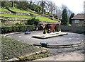 NZ2642 : Dodgem Track, Wharton Park by Roger Smith