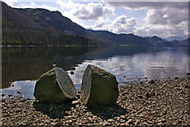 "NY2621 : ""Hundred Year Stone"" and Falcon Crag by Ian Capper"