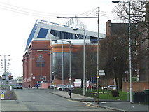 NS5564 : Edmiston Drive and Ibrox Stadium by Thomas Nugent