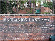 TQ2784 : England's Lane NW3 by adrian cowin