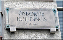 J3271 : Osborne Buildings, Belfast [detail] by Rossographer