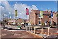 SO3801 : Burrium Chase housing development in Usk by Roger Davies