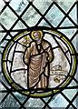 TG0436 : All Saints Church - east window detail by Evelyn Simak