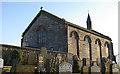 NS8462 : Kirk O'Shotts Church - Side View Near Shotts by M22RDY