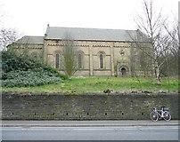 SE1115 : St Luke's Church, Manchester Road A62, Milnsbridge, Linthwaite by Humphrey Bolton