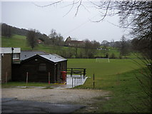 SU8695 : BroomWade Sports and Social Club ground by Shaun Ferguson