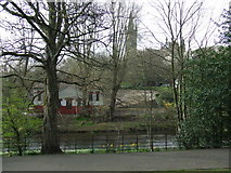 NS5766 : Kelvingrove Park bandstand by Thomas Nugent