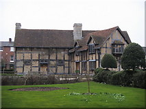 SP2055 : The birthplace of William Shakespeare by Shaun Ferguson