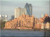 TQ3680 : Riverside development, Limehouse by N Chadwick