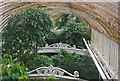 TQ1876 : Above the canopy in the Palm House, Kew Gardens by N Chadwick