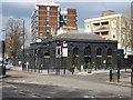 TQ2683 : Marlborough Road tube station seen from Finchley Rd. by Oxyman