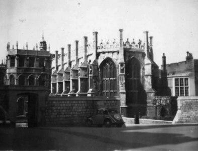 SU9677 : St George's Chapel, Windsor Castle, 1953 by M J Richardson