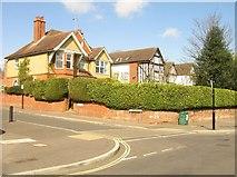 SU6351 : Corner of Wallis & Cliddesden roads by Sandy B