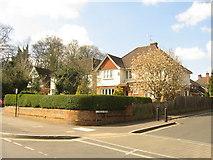 SU6351 : Wallis Road meets Cliddesden Road by Sandy B