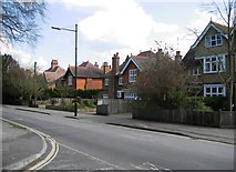 SU6351 : Housing in Cliddesden Road by Sandy B