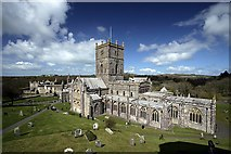 SM7525 : St David's Cathedral and Bishop's Palace by Alan Thomas