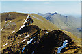 NH0010 : The ridge south east of Sgurr an Lochain by Nigel Brown