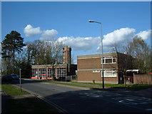 SP8633 : Bletchley Fire Station by Mr Biz