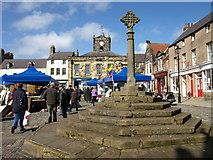 NU1813 : Market Cross, Alnwick by wfmillar