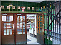 ST3188 : Side entrance to Newport Market by Robin Drayton