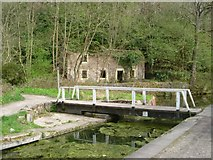 SK3155 : Footbridge over the Cromford Canal by Ray Folwell