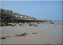 SW3526 : Seafront cottages, Sennen Cove by Pauline E